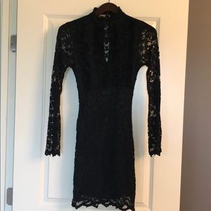 Arden B lace body on dress.  Size small